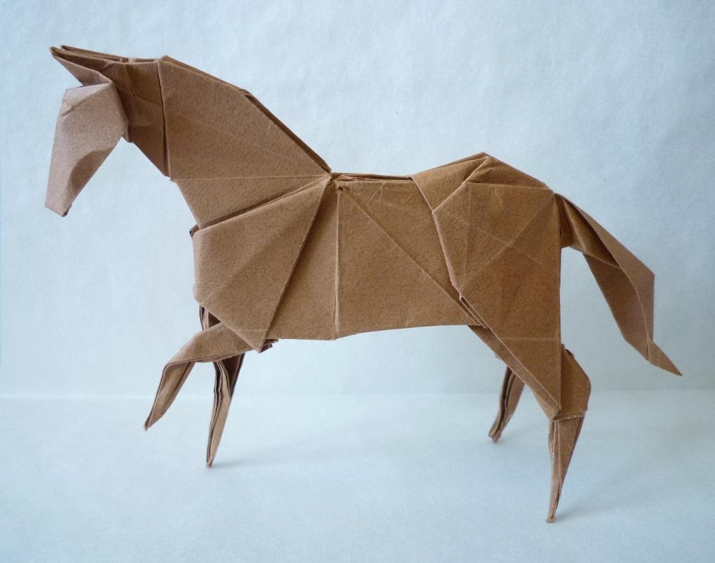 Comment faire un cheval en papier - Comment faire un eventail en papier ...